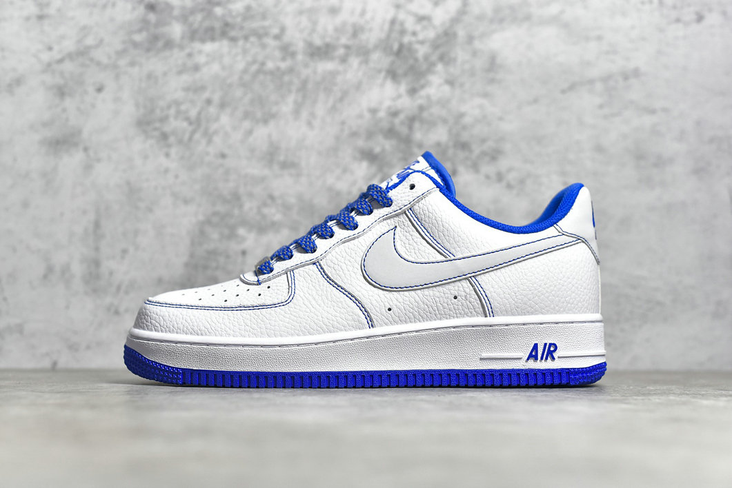 2021 Where To Buy Wholesale Cheap Nike Air Force 1 Low 07 SU 19 White Sapphire Blue CN2896-102 - www.wholesaleflyknit.com