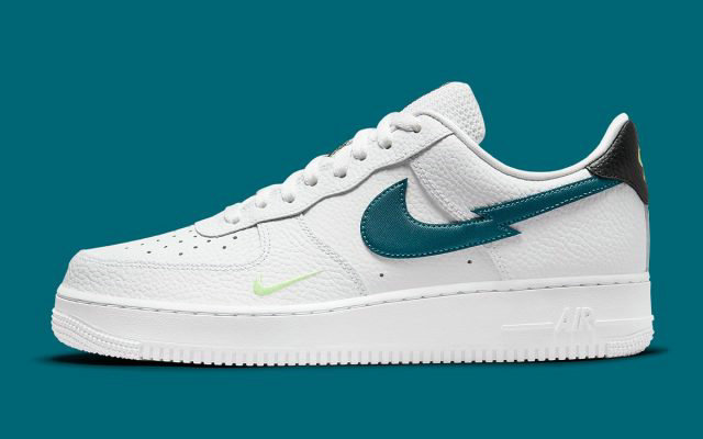 2021 Where To Buy Wholesale Cheap Nike Air Force 1 Low White Aquamarine Lime Glow Off Noir DJ6894-100 - www.wholesaleflyknit.com
