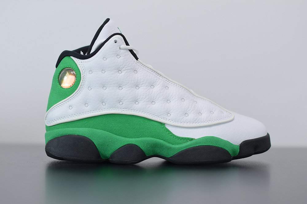 2021 Where To Buy Cheap Nike Air Jordan 13 Retro Ray Allen PE White Clover 414571-125 - www.wholesaleflyknit.com
