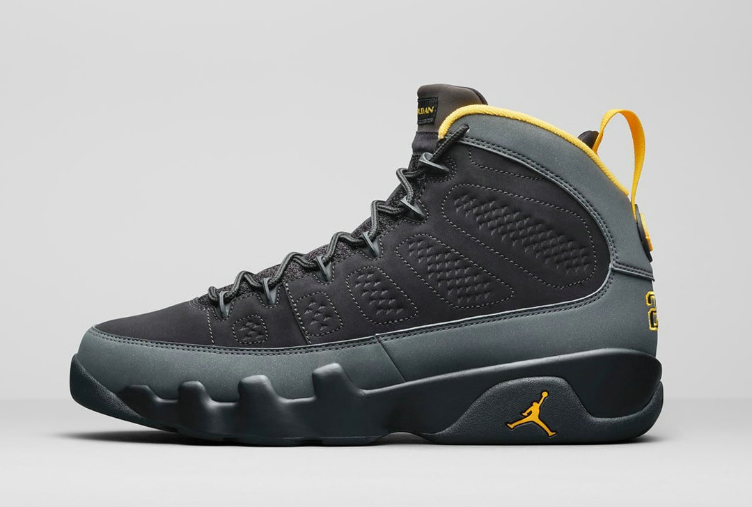 2021 Where To Buy Cheap Nike Air Jordan 9 Black Dark Charcoal-University Gold CT8019-070 - www.wholesaleflyknit.com