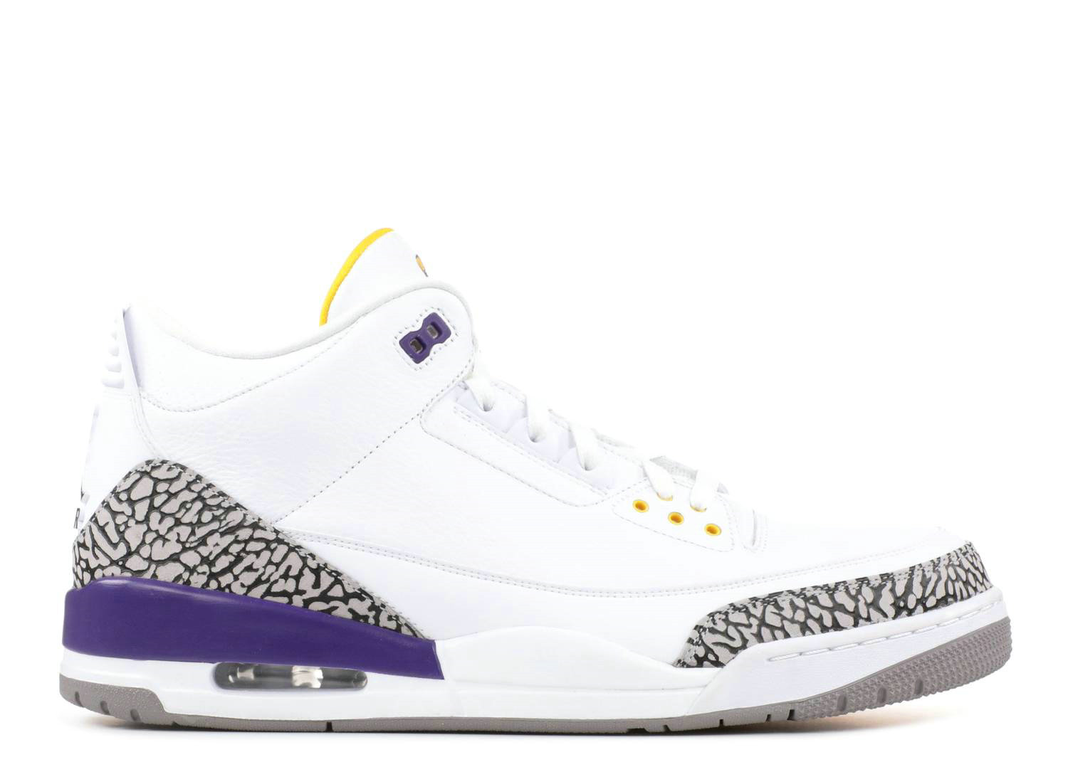 2021 Where To Buy Cheap Nike Air Jordan III 3 Retro White Purple Yellow Black Cement 136064-115 - www.wholesaleflyknit.com