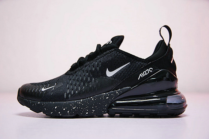 2021 Where To Buy Cheap Nike Air Max 270 Flyknit Black White AH8050-202 - www.wholesaleflyknit.com