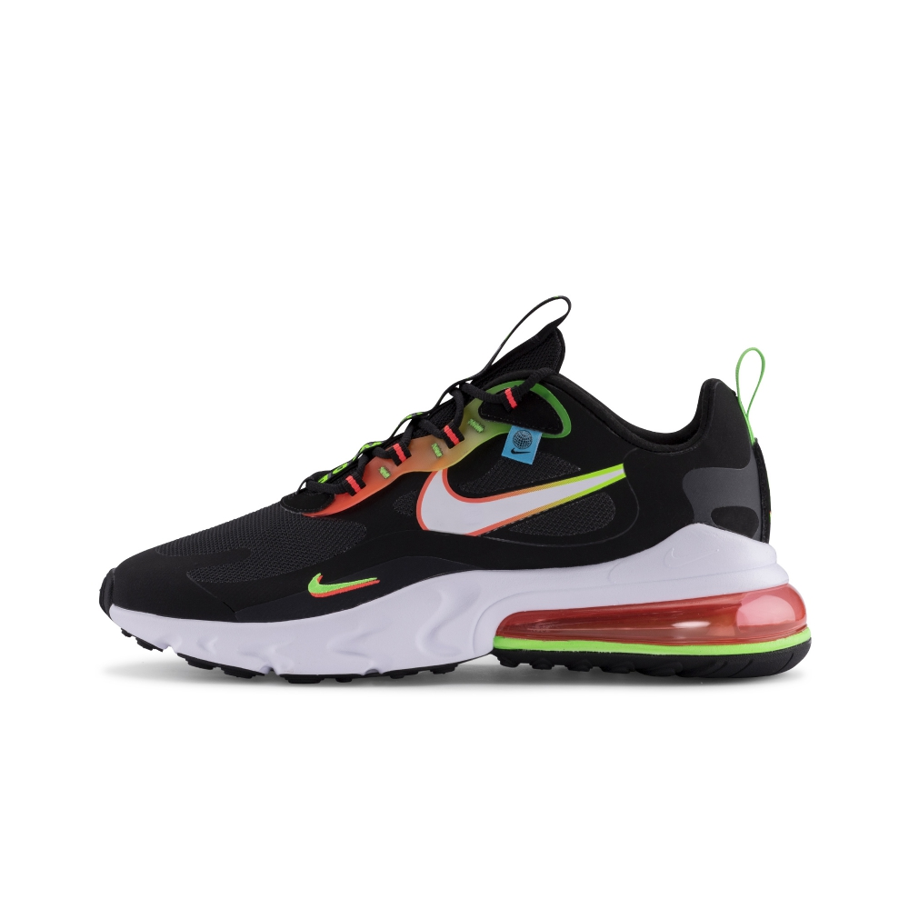 2021 Where To Buy Wholesale Cheap Nike Air Max 270 REACT SE Black Green Flash Crimson White CK6457-001 - www.wholesaleflyknit.com
