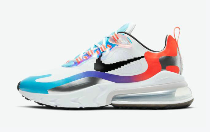 2021 Where To Buy Cheap Nike Air Max 270 React Have A Good Game DC0833-101 - www.wholesaleflyknit.com
