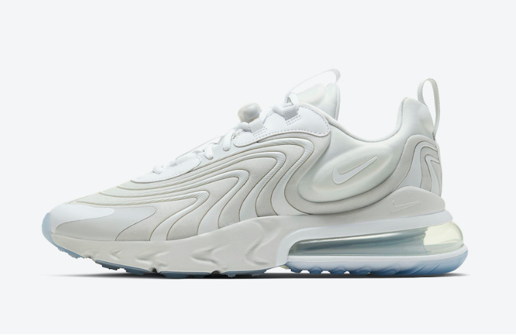 2021 Where To Buy Cheap Nike Air Max 270 React White Grey Light Blue - www.wholesaleflyknit.com
