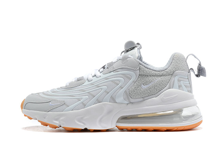 2021 Where To Buy Cheap Nike Air Max 270 React White Grey Yellow - www.wholesaleflyknit.com