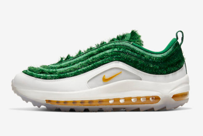 2021 Where To Buy Wholesale Cheap Nike Air Max 97 Golf Grass CK4437-100 - www.wholesaleflyknit.com