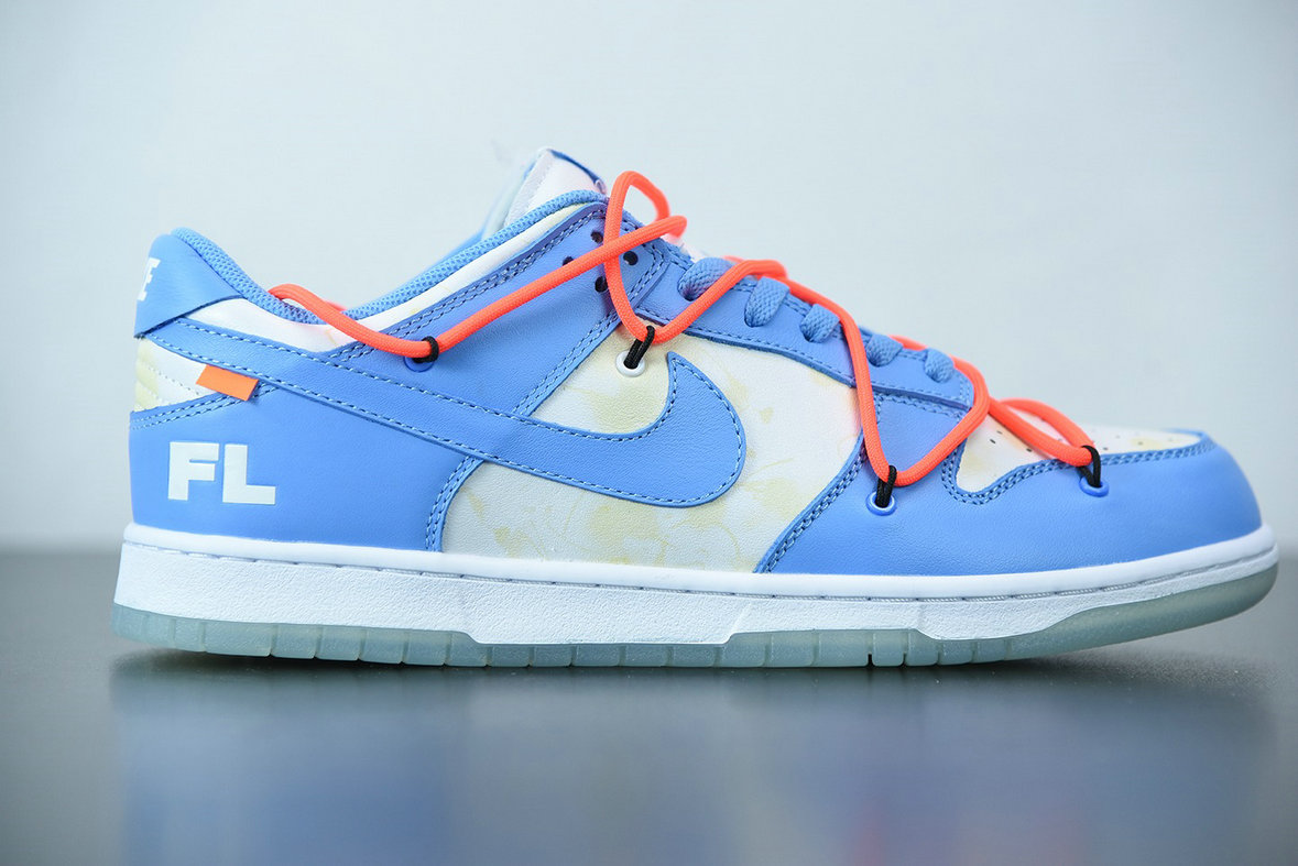 2021 Where To Buy Wholesale Cheap Nike Dunk Low LTHR OW Coast Moon White DD0856-403 - www.wholesaleflyknit.com