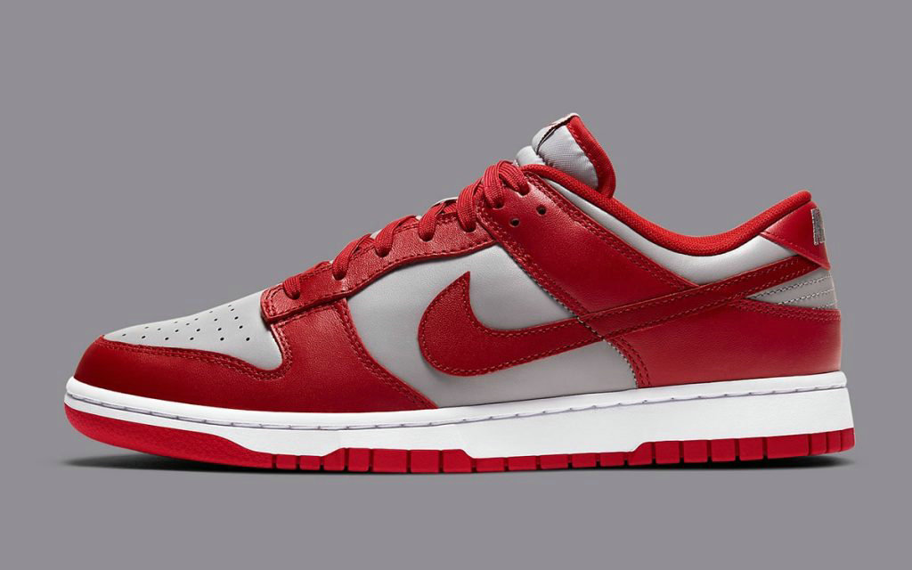 2021 Where To Buy Wholesale Cheap Nike Dunk Low UNLV Soft Grey University Red White DD1391-002 - www.wholesaleflyknit.com