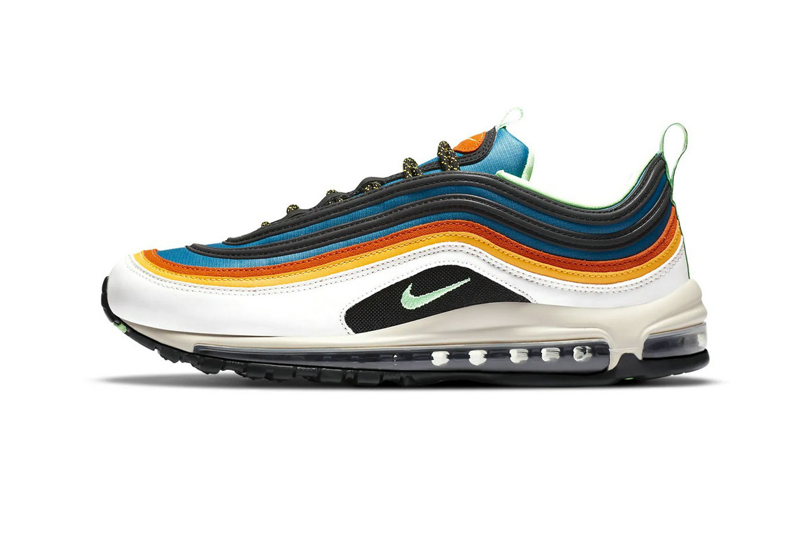2021 Where To Buy Cheap Nike Latest Air Max 97 Pops With Multi-Colored Stripes CZ7868-300 - www.wholesaleflyknit.com