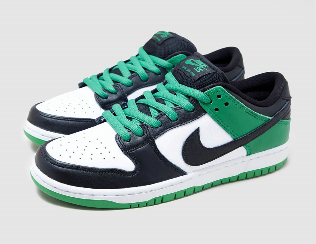 2021 Where To Buy Wholesale Cheap Nike SB Dunk Low Classic Green Black White BQ6817-302 - www.wholesaleflyknit.com