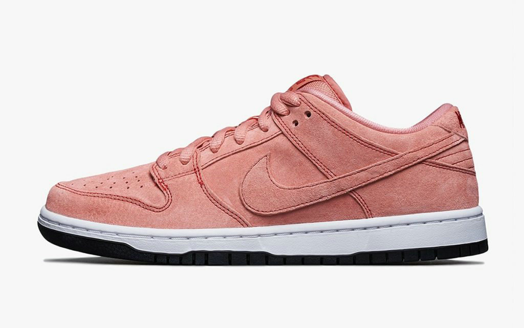2021 Where To Buy Wholesale Cheap Nike SB Dunk Low Pink Pig Atomic Pink University Red White CV1655-600 - www.wholesaleflyknit.com