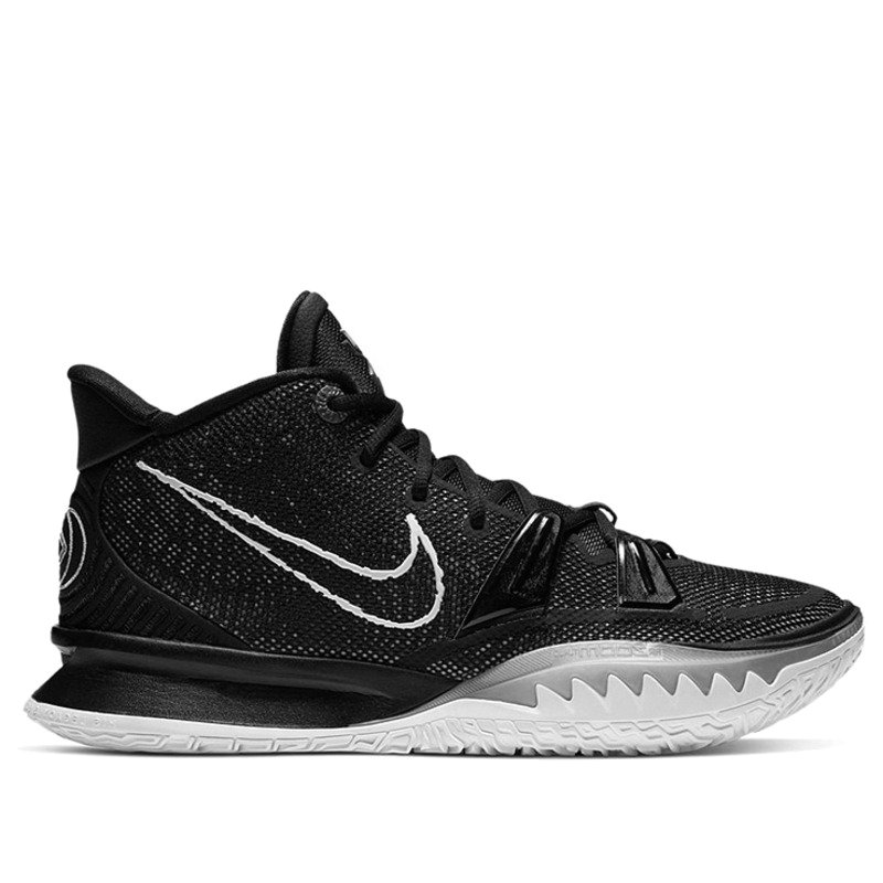 2021 Where To Buy Wholesale Cheap Nike Zoom Kyrie 7 EP Black White Blue CQ9327-002 - www.wholesaleflyknit.com