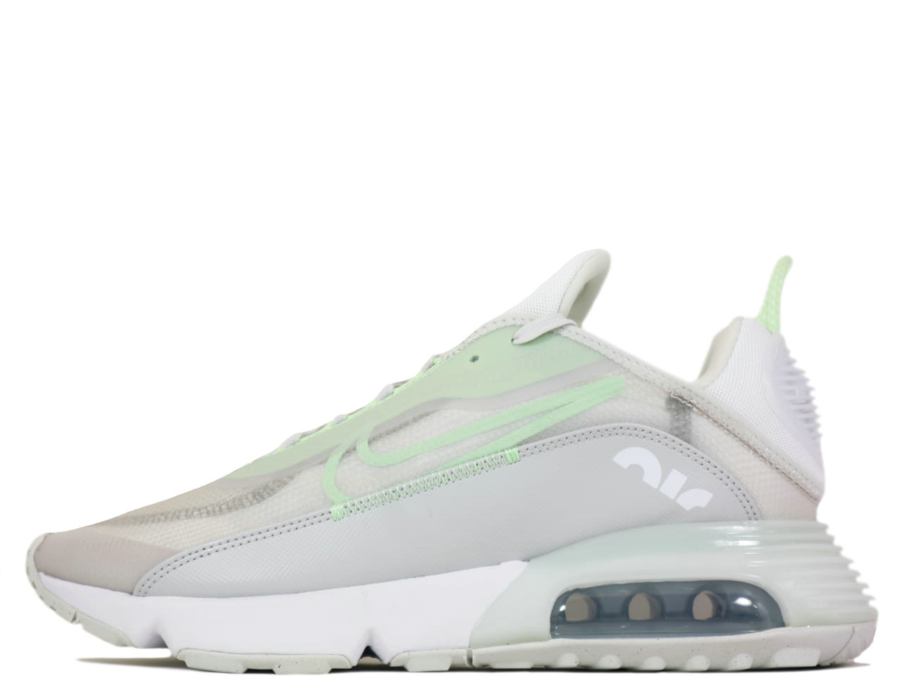2021 Where To Buy Cheap Womens Nike Air Max 2090 Vast Grey Vapor Green-Flat Pewter-White CT1091-001 - www.wholesaleflyknit.com