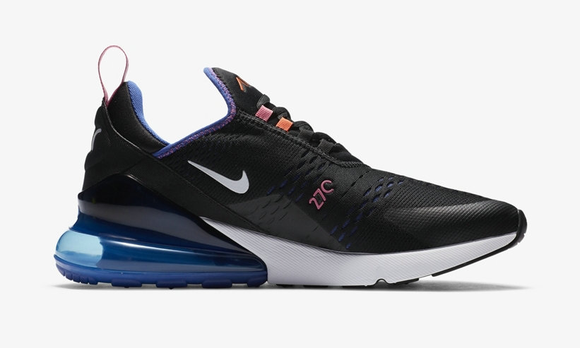 2021 Where To Buy Cheap Womens Nike Air Max 270 Black Astronomy Blue DC1858-001 - www.wholesaleflyknit.com
