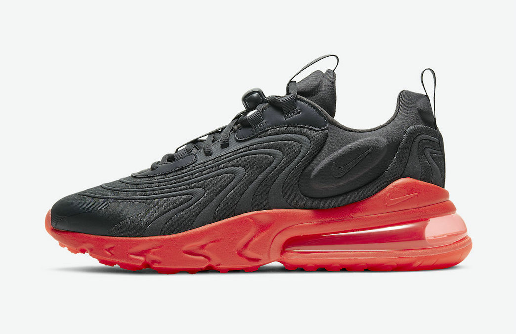 2021 Where To Buy Cheap Womens Nike Air Max 270 React ENG Black Orange CZ1759-002 - www.wholesaleflyknit.com