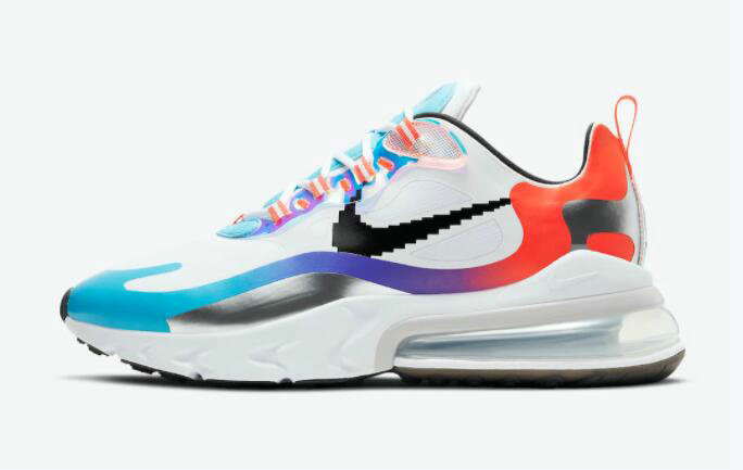 2021 Where To Buy Cheap Womens Nike Air Max 270 React Have A Good Game DC0833-101 - www.wholesaleflyknit.com