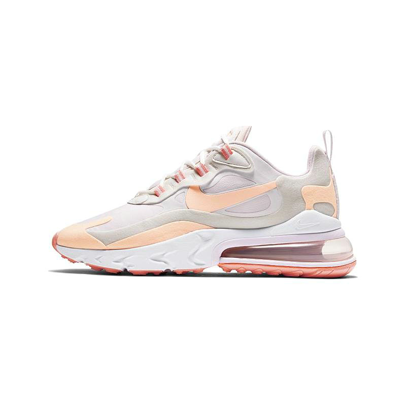 2021 Where To Buy Cheap Womens Nike Air Max 270 React Summit White Crimson Tint-Light Violet CJ0619-103 - www.wholesaleflyknit.com