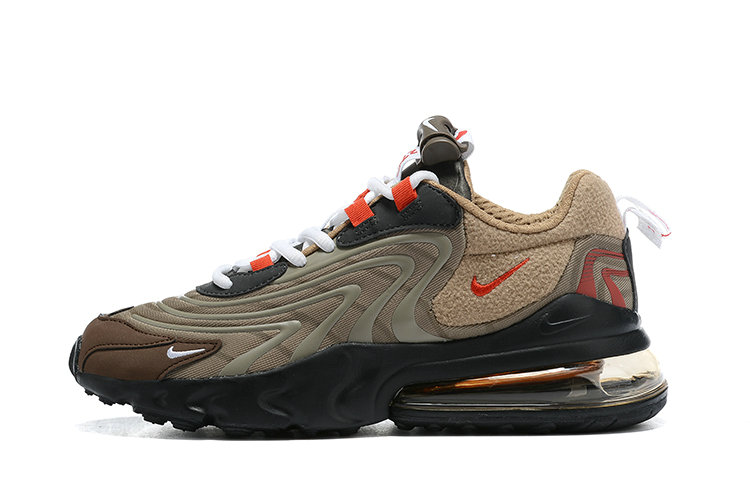 2021 Where To Buy Cheap Womens Nike Air Max 270 React Travis Scott Chocolate Black Red - www.wholesaleflyknit.com