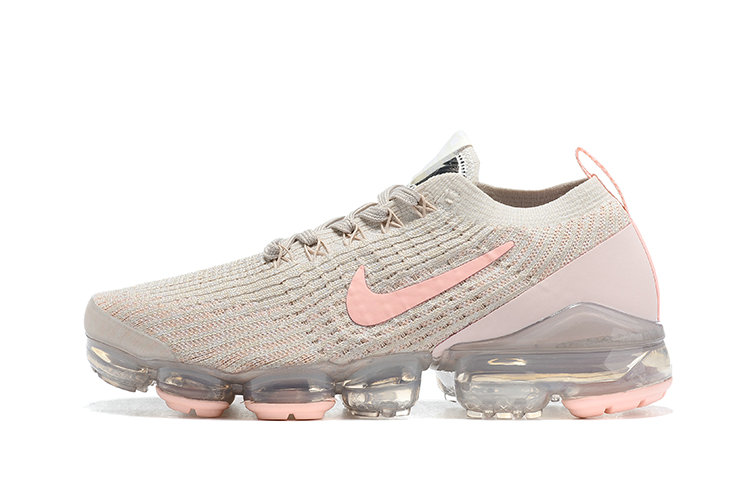 2021 Where To Buy Cheap Womens Nike Air VaporMax Flyknit 3.0 Rose Pink Grey - www.wholesaleflyknit.com