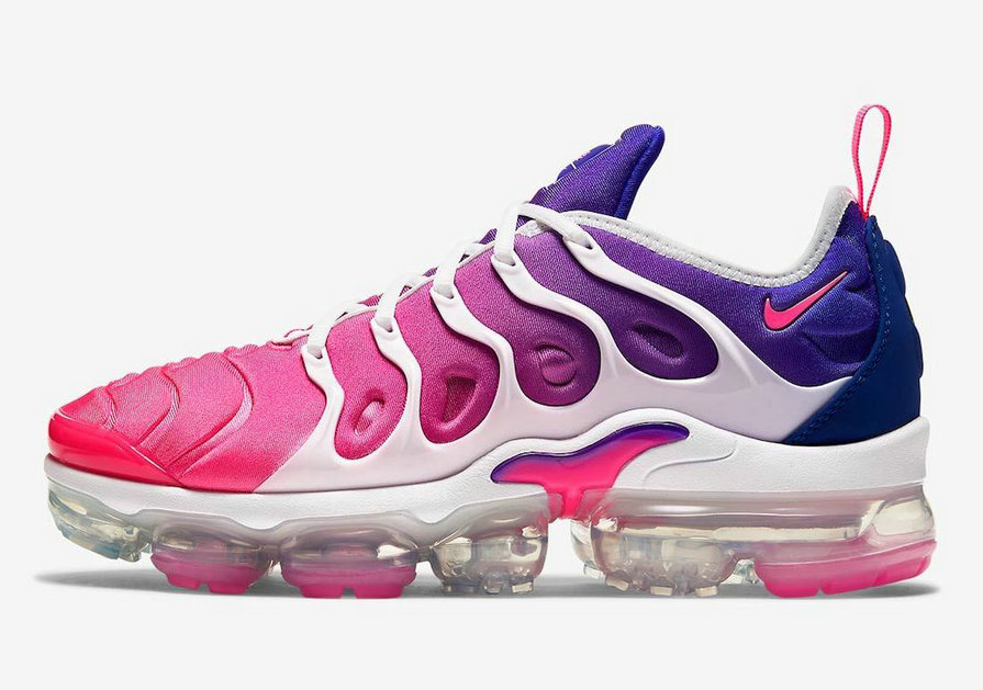 2021 Where To Buy Cheap Womens Nike Air VaporMax Plus SE Multi-Color Pink Blast-Concord-Vast Grey DC2044-900 - www.wholesaleflyknit.com