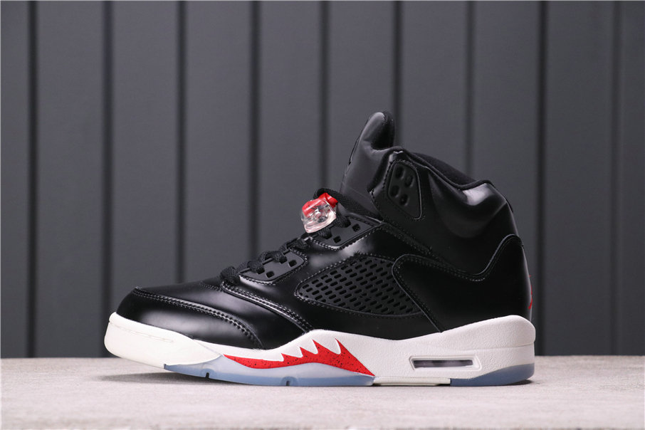 2021 Where To Buy Womens Wholesale Cheap Air Jordan 5 Black University Red White - www.wholesaleflyknit.com