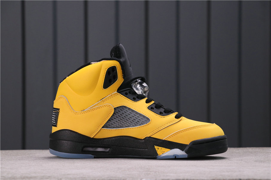 2021 Where To Buy Womens Wholesale Cheap Air Jordan 5 SP Michigan Amarillo College Navy CQ9541-704 - www.wholesaleflyknit.com