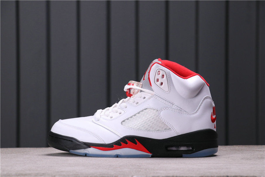 2021 Where To Buy Womens Wholesale Cheap Air Jordan 5 White Fire Red-Black DA1911-102 - www.wholesaleflyknit.com