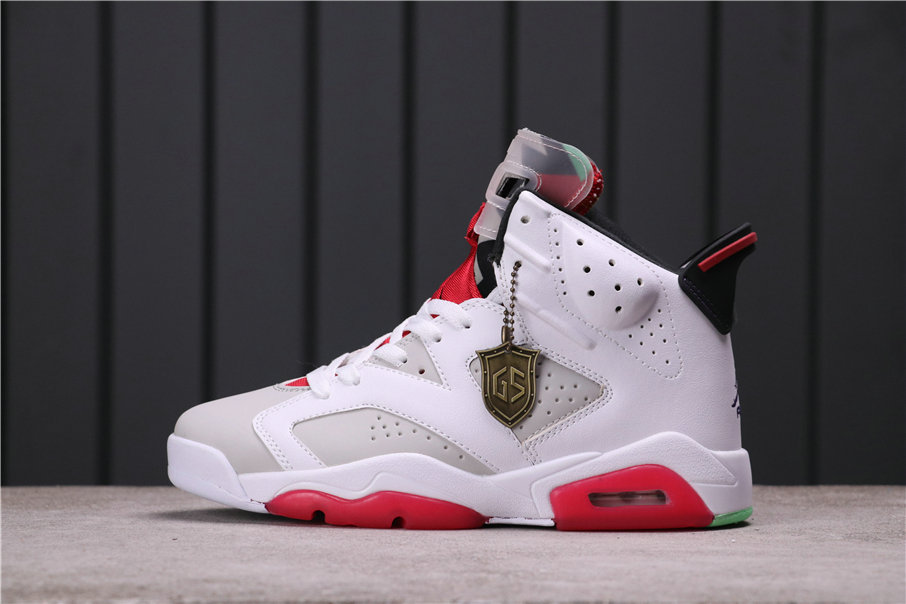 2021 Where To Buy Womens Wholesale Cheap Air Jordan 6 Hare Neutral Grey White-True Red-Black CT8529-062 - www.wholesaleflyknit.com