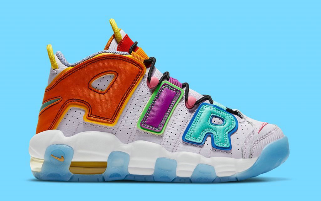 2021 Where To Buy Womens Wholesale Cheap Nike Air More Uptempo Mix-n-Match Barely Grape Opti Yellow Vivid Purple Orange Peel DH0624-500 - www.wholesaleflyknit.com