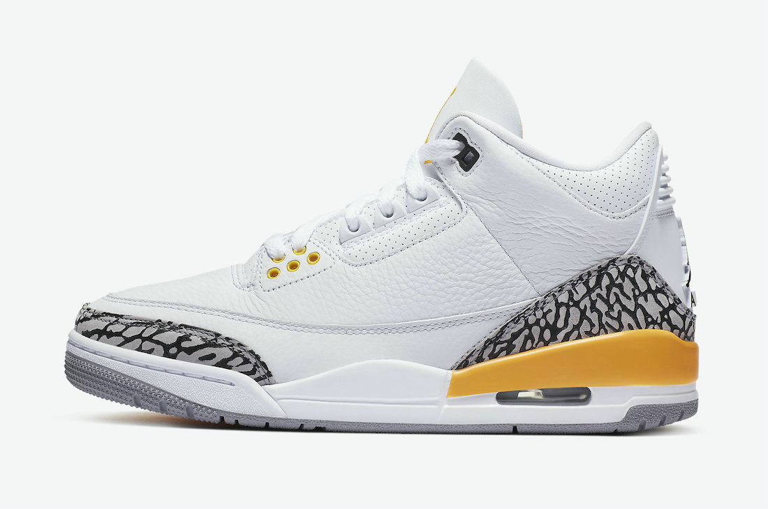2021 Womens Wholesale Cheap Nike Air Jordan 3 Laser Orange White Laser Orange-Cement Grey-Black CK9246-108 - www.wholesaleflyknit.com