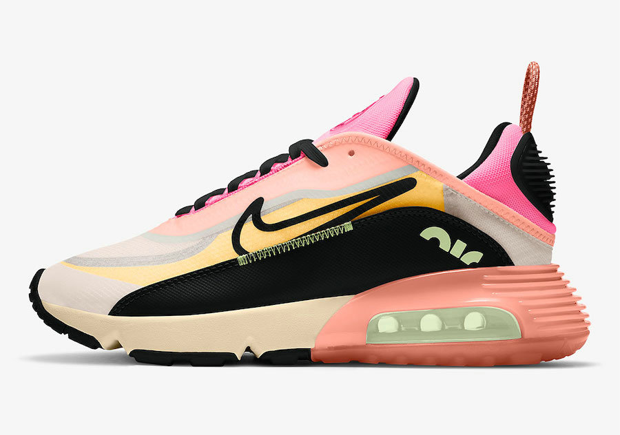 2021 Womens Wholesale Cheap Nike Air Max 2090 Neon Highlighter Barely Volt Atomic Pink-Pink Glow-Black CT1290-700 - www.wholesaleflyknit.com