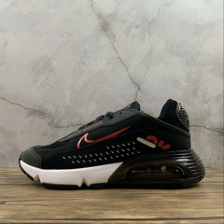 2021 Womens Wholesale Cheap Nike Air Max 2090 Neymar Jr Black Laser Red Summit White Noir Blancs Rouge Laser CU9371-006 - www.wholesaleflyknit.com