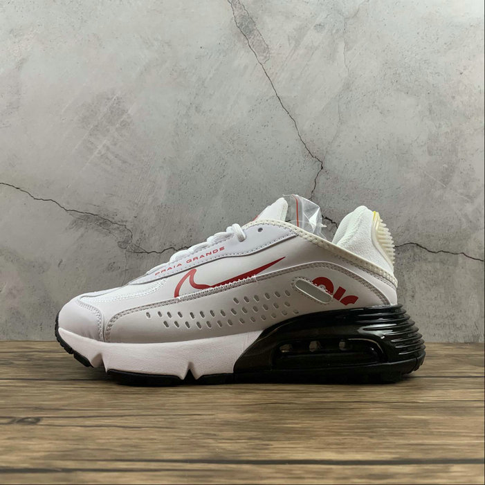 2021 Womens Wholesale Cheap Nike Air Max 2090 Neymar Jr White University Red Blanc Universite Rouge CU9371-104 - www.wholesaleflyknit.com