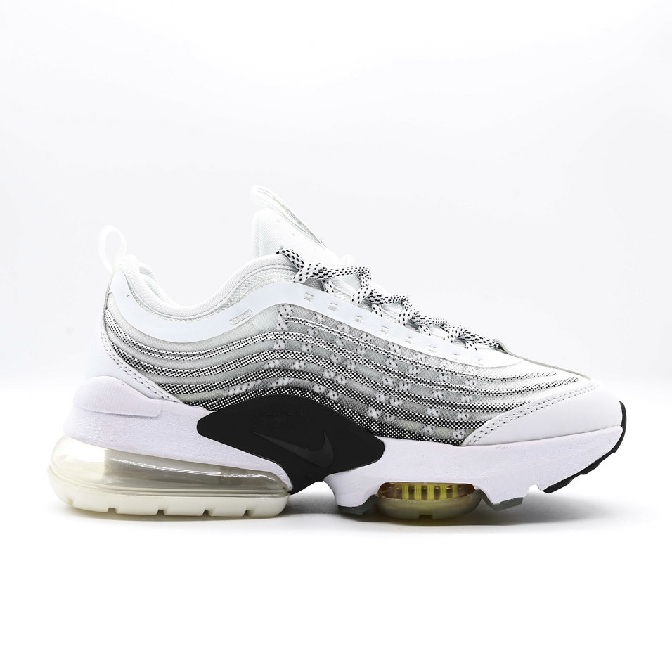 2021 Womens Wholesale Cheap Nike Air Max ZOOM 950 Black Wolf Grey White Gold - www.wholesaleflyknit.com