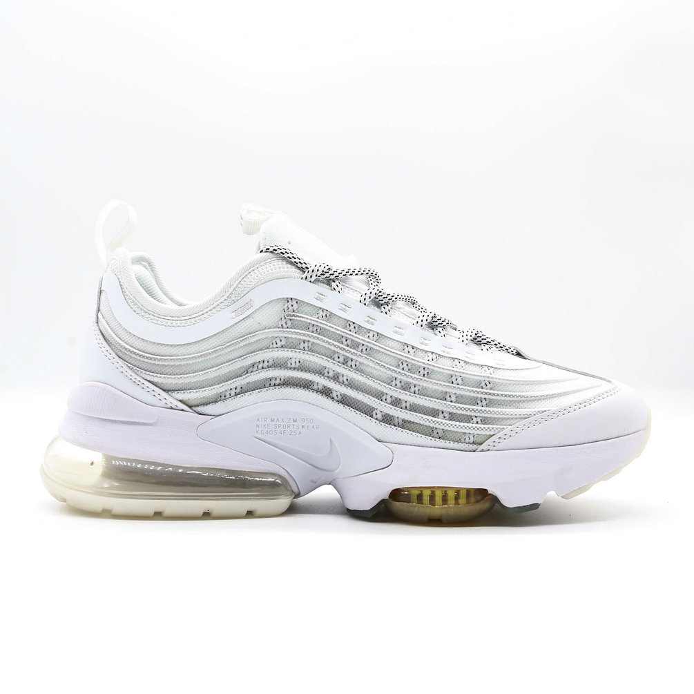 2021 Womens Wholesale Cheap Nike Air Max ZOOM 950 Grey White Gold - www.wholesaleflyknit.com