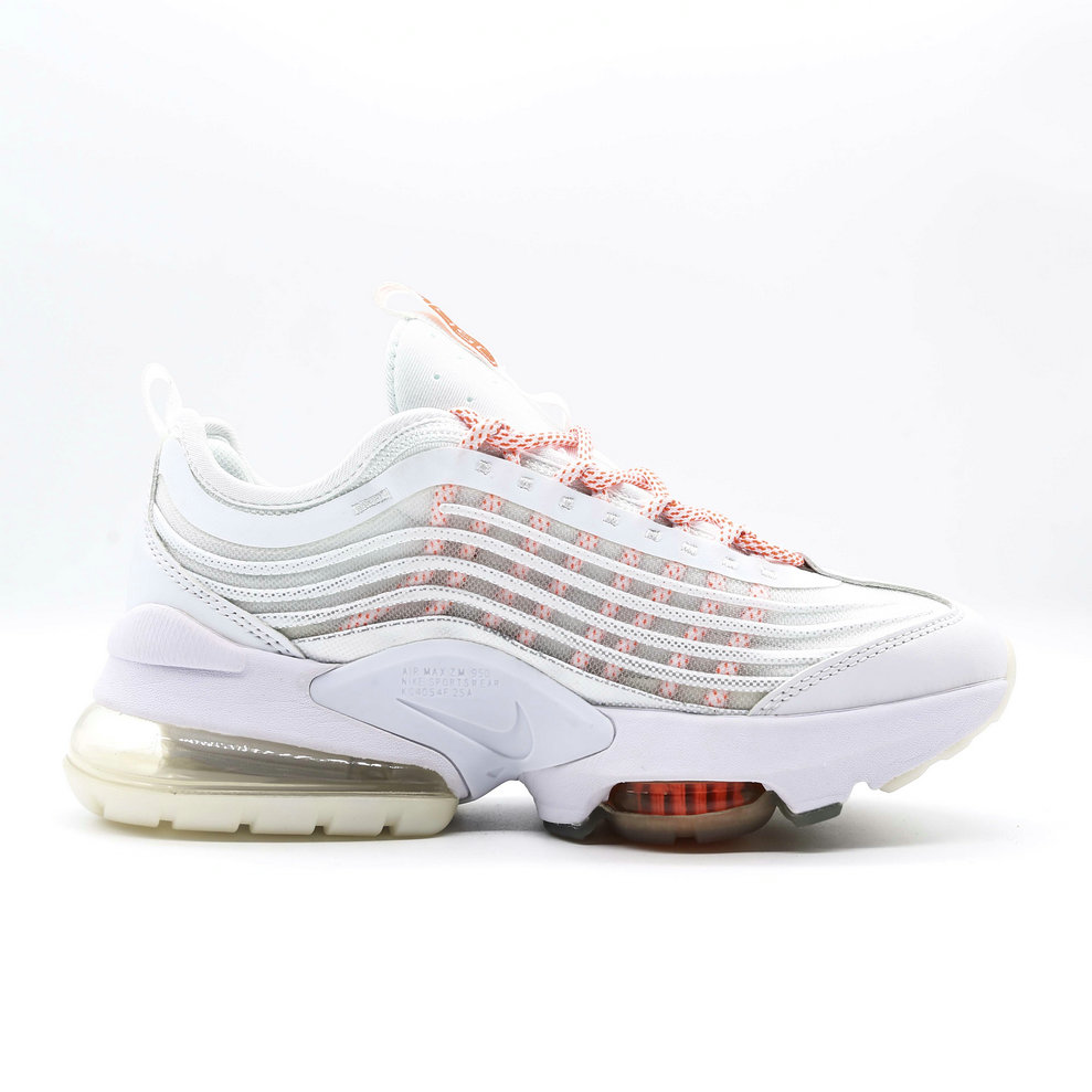 2021 Womens Wholesale Cheap Nike Air Max ZOOM 950 White Pink - www.wholesaleflyknit.com