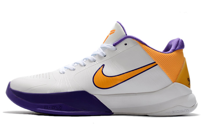2021 Womens Wholesale Cheap Nike Kobe 5 Lakers Court Purple White-Amarillo - www.wholesaleflyknit.com