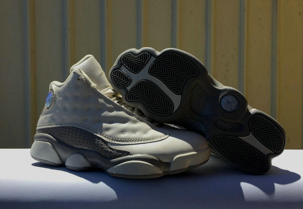 Air Jordan 13 Retro Cheap Grey Hot Sale On 2018 On www.wholesaleoffwhite.com