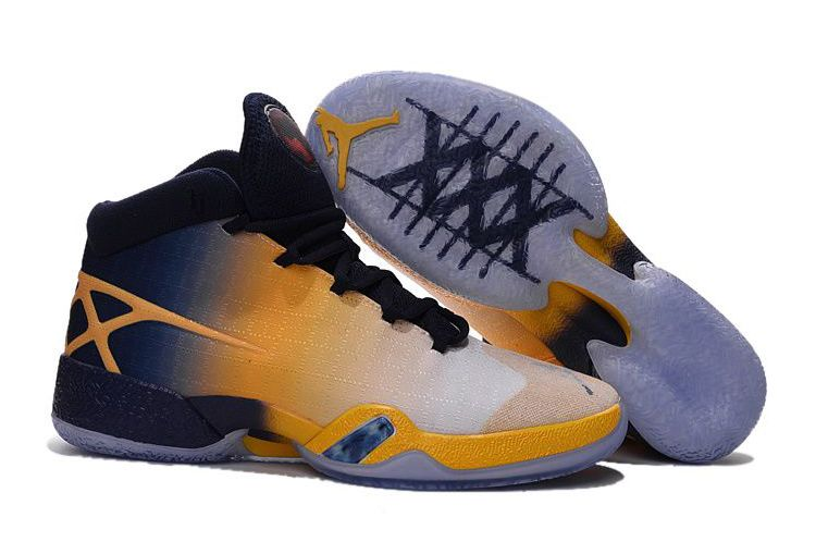 Wholesale Cheap Air Jordan 30 XXX Cal Golden Bears White-Navy Yellow 2016 - www.wholesaleflyknit.com