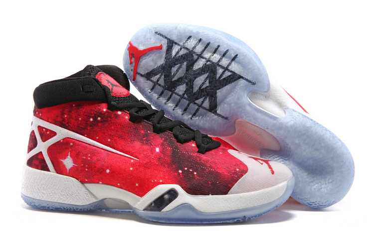 Wholesale Cheap Air Jordan 30 XXX JBC PEs Galaxy Red Black-White 2016 - www.wholesaleflyknit.com