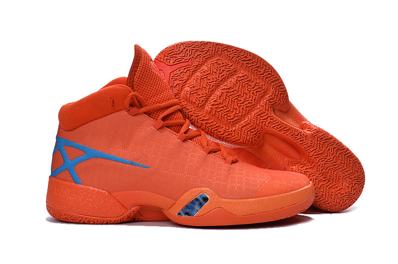 Wholesale Cheap Air Jordan 30 XXX Playoffs Orange Blue PE 2016 - www.wholesaleflyknit.com