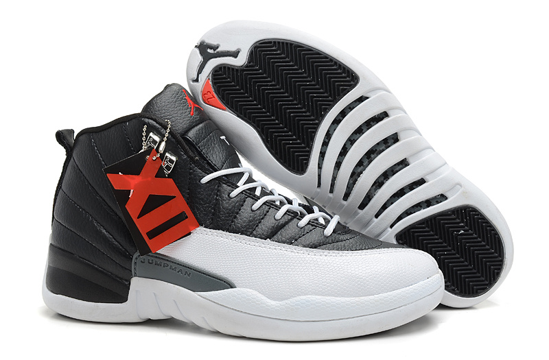 buy online 7aa2b 5b794 Wholesale Cheap Air Jordans 12 Retro Playoffs Black White -Varsity Red For  Sale - www