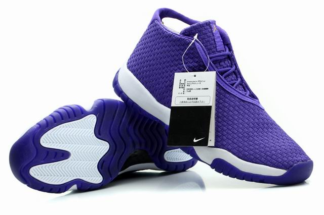 Wholesale Cheap Air Jordans Future Glow Purple White For Sale - www.wholesaleflyknit.com