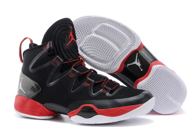 Wholesale Cheap Air Jordans XX8 SE Black White-Anthracite-Gym Red For Sale - www.wholesaleflyknit.com