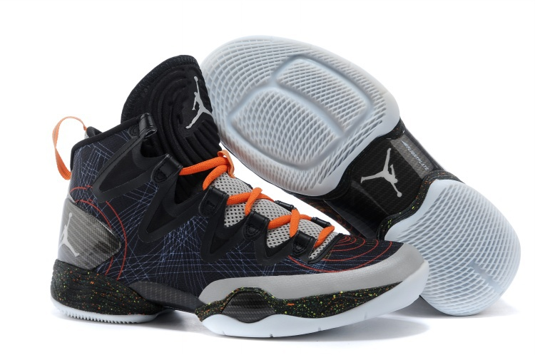 Wholesale Cheap Air Jordans XX8 SE Christmas Black White-Reflect Silver-Total Orange For Sale - www.wholesaleflyknit.com