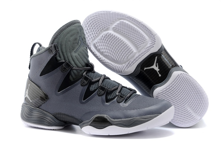 Wholesale Cheap Air Jordans XX8 SE Dark Grey White-Black-Cool Grey For Sale - www.wholesaleflyknit.com