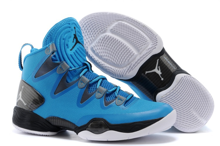 63ecd5f4b708 Wholesale Cheap Air Jordans XX8 SE Dark Powder Blue White-Cool Grey-Black  For