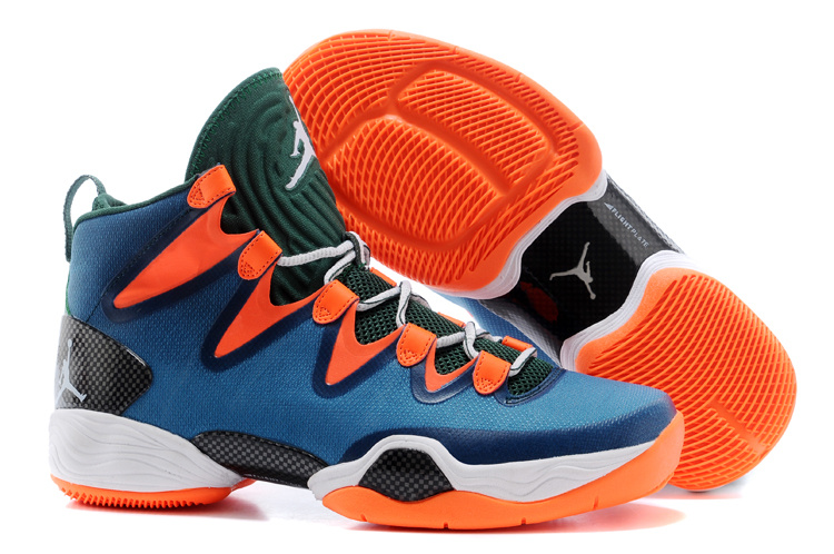 Wholesale Cheap Air Jordans XX8 SE Green Orange For Sale - www.wholesaleflyknit.com