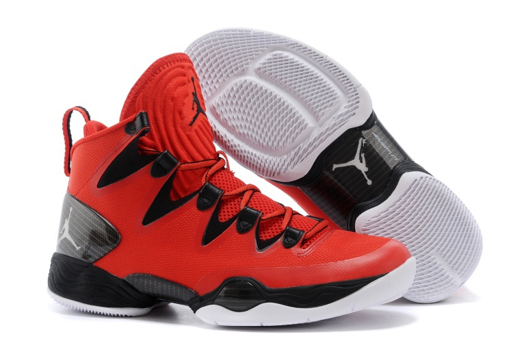 Wholesale Cheap Air Jordans XX8 SE Gym Red White-Wolf Grey For Sale - www.wholesaleflyknit.com